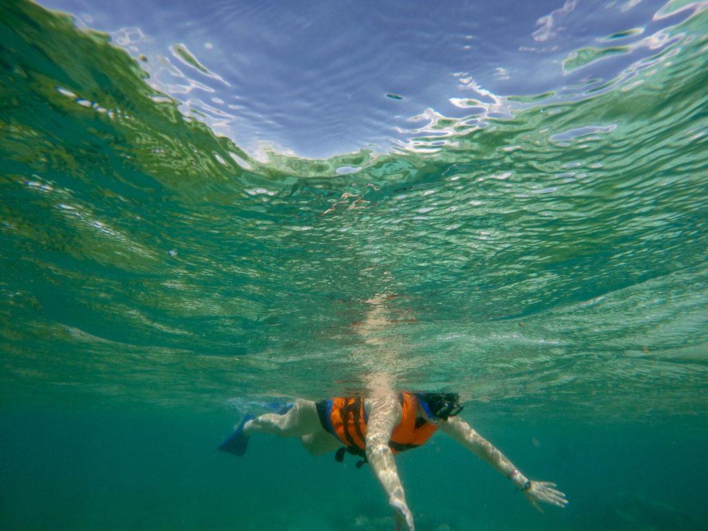 Snorkeling The Mayan Reef