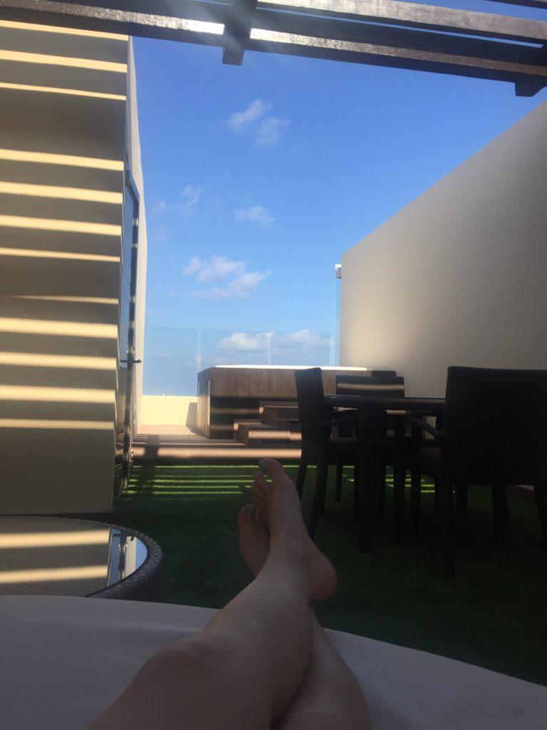 Rooftop Terrace 2018 Royalton Riviera Cancun Resort & Spa