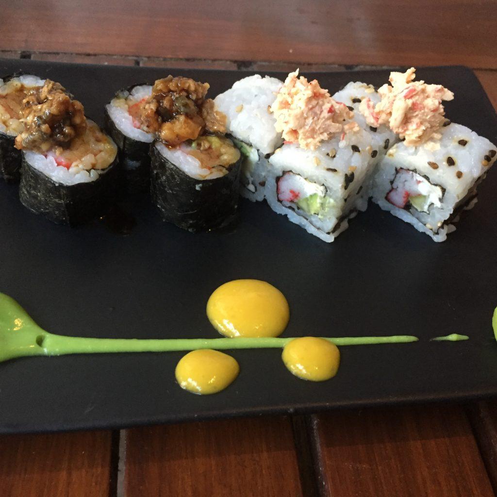 Zen Japanese Restaurant at the Royalton.