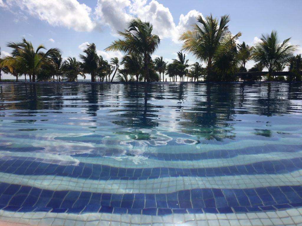 Infinity Pool at the Royalton Riviera